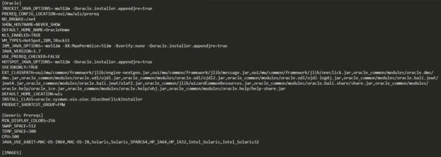 weblogic安装时提示不是有效的JDK Java主目录解决方案